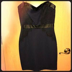 Guess strapless dress size 6